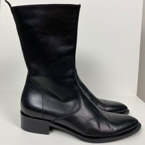 Kenneth Cole Mid Calf Leather Boots size 5.5